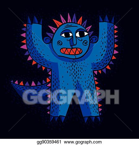 Msithic. Vector stock cool cartoon