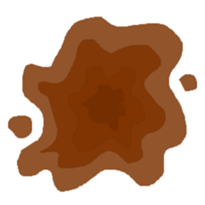 Clipart panda free images. Mud puddle png freeuse stock