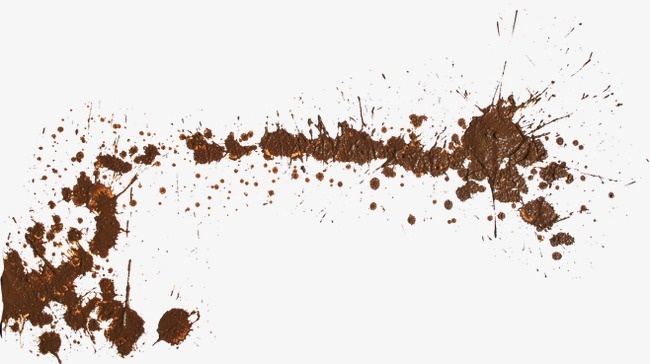 Mud clipart brown ground. Floating png image and