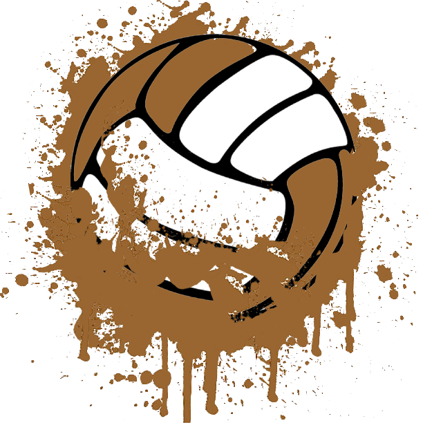 Chair clipart volleyball. Mud at thomas falls
