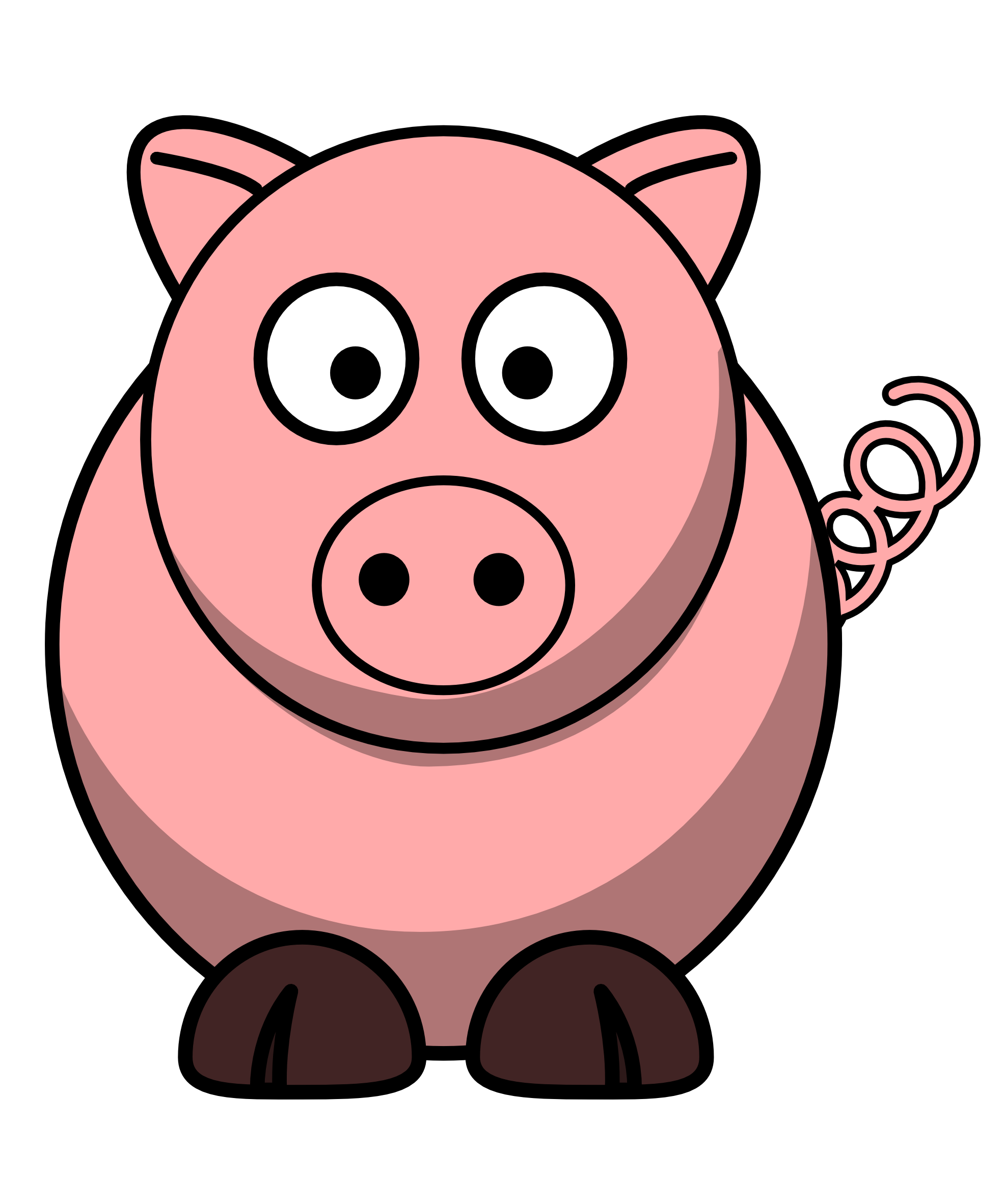 Mud clipart dirty baby. Free pig cliparts download