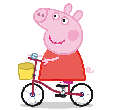 Cartoon characters peppa pig. Mud puddle png jpg transparent stock