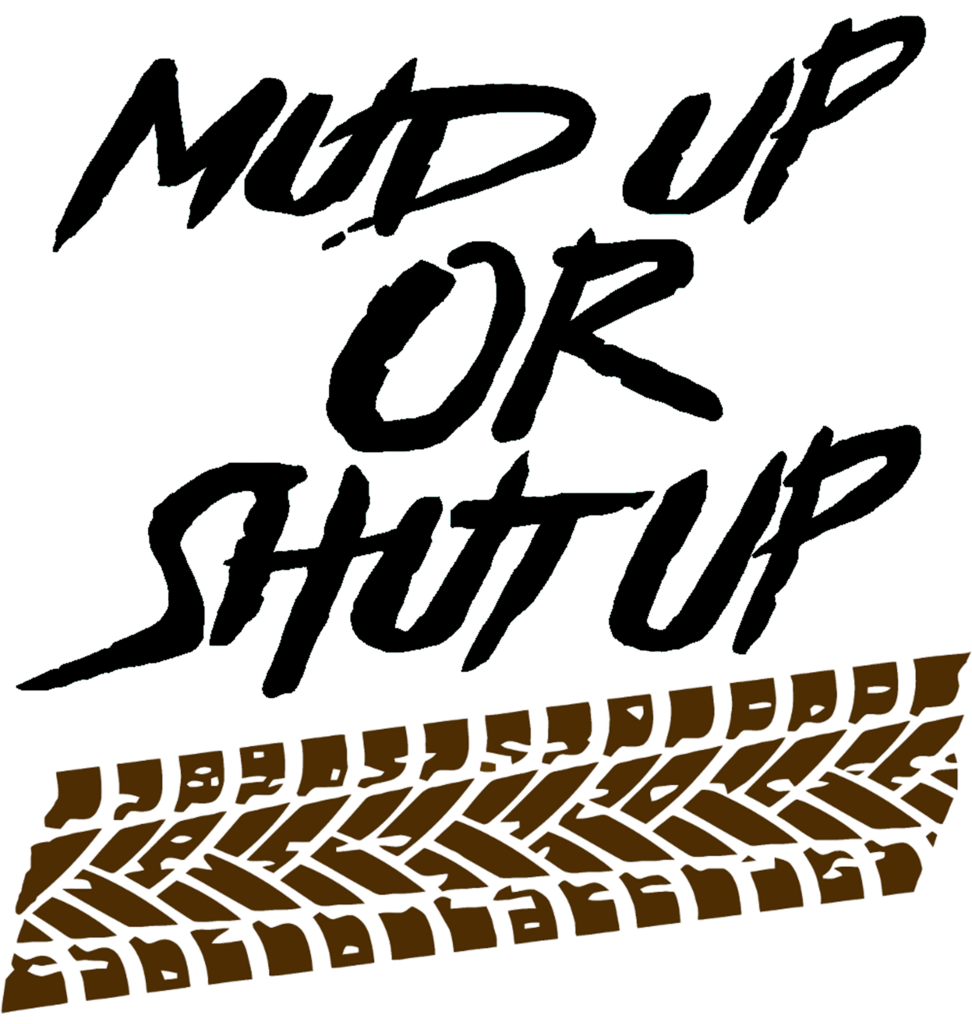 Mud tracks png. Up or shut with