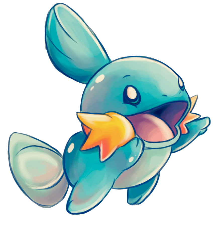 Mudkip drawing. By daishota on deviantart