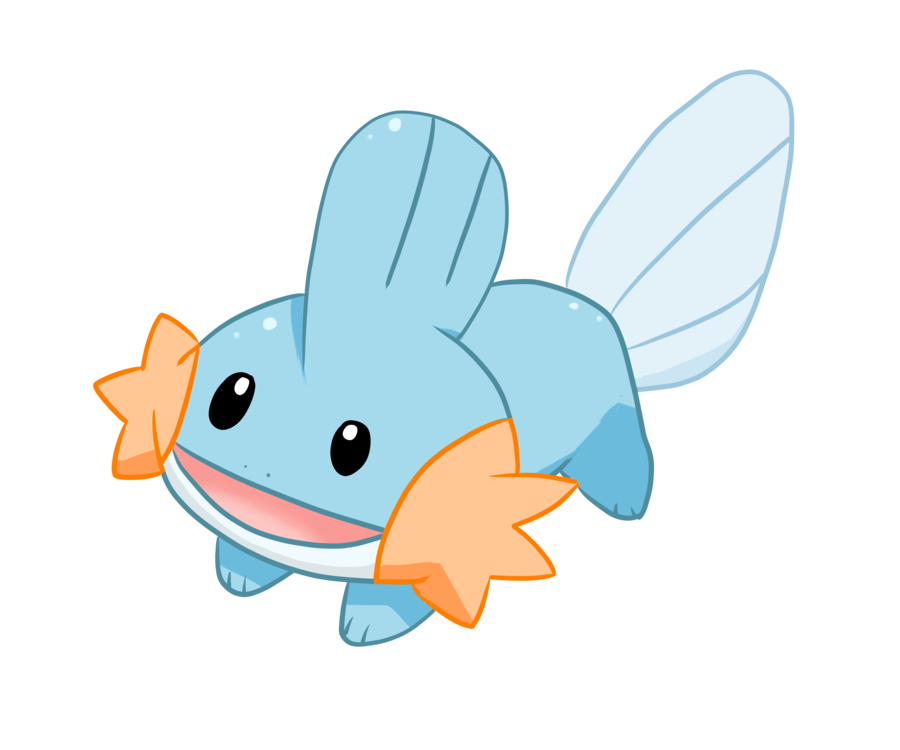 Mudkip transparent pmd. C by shortiebecca on
