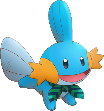 Mudkip drawing. Pokemon super mystery dungeon