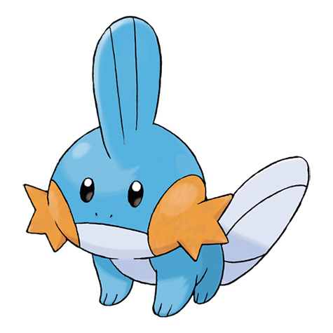 Mudkip drawing. Pok dex