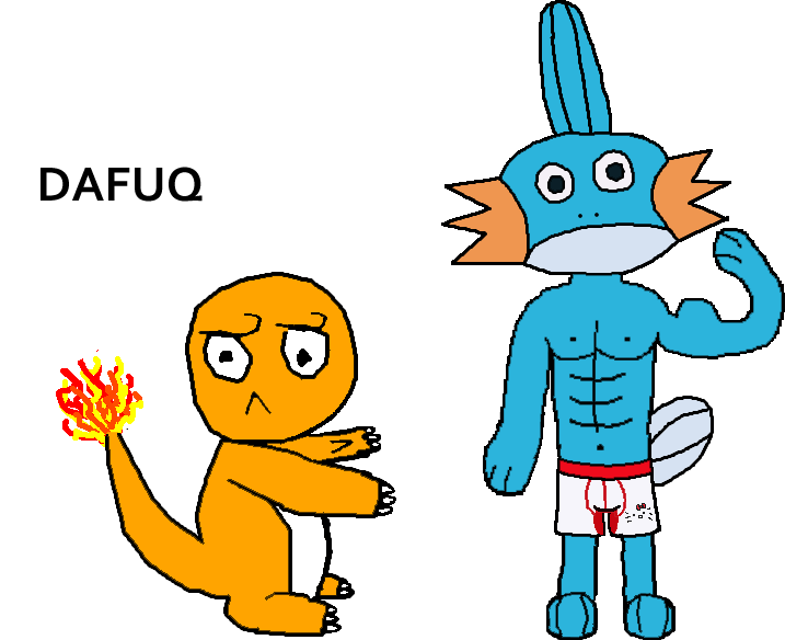 Mudkip transparent charmander. And steroids by marikm