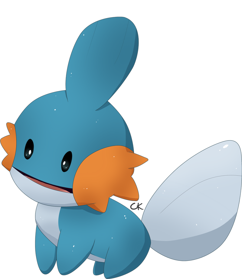 Mudkip transparent top hat. Curious by clefairykid on