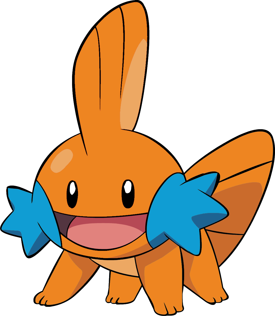 Mudkip transparent vulpix. I color swapped the