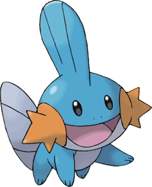 Mudkip Drawing Pokemon Transparent & PNG Clipart Free Download - YAWD | 640x522