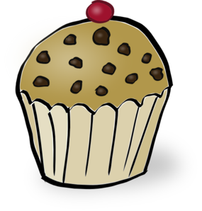 Muffin svg animated. Chocolate chip clip art
