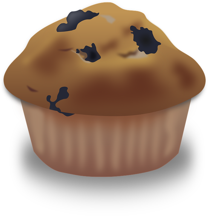 Muffins clipart new year. Baking blueberry muffin clip