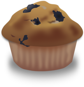 Muffin clipart. Blueberry clip art at