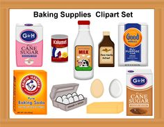 Muffin clipart baking ingredient. Funny clip art leo