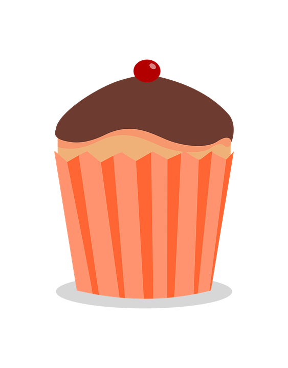 Muffin clipart colored cupcake. Color cliparts shop of