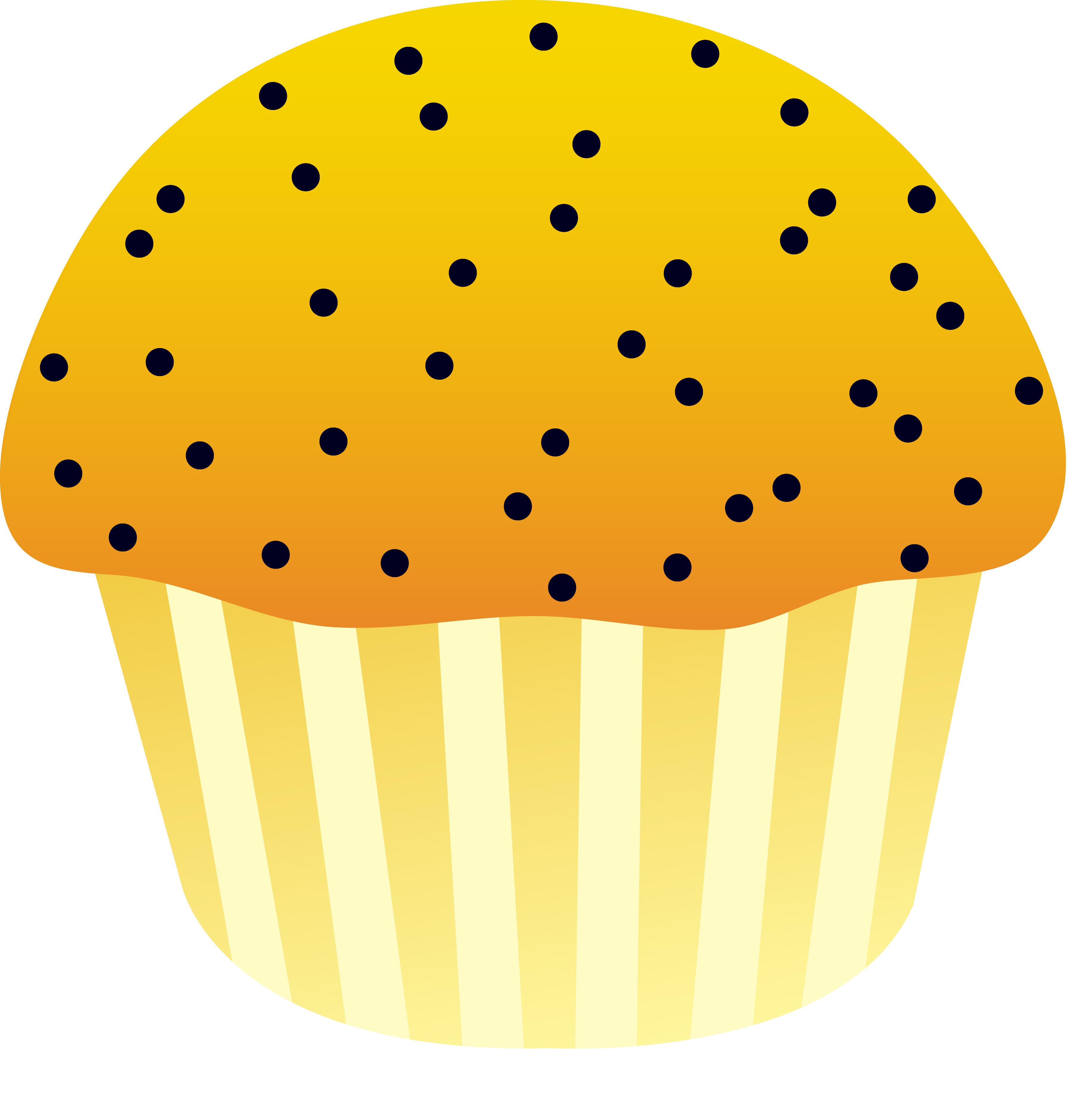 Muffin clipart lemon cake. Poppy seed free clip
