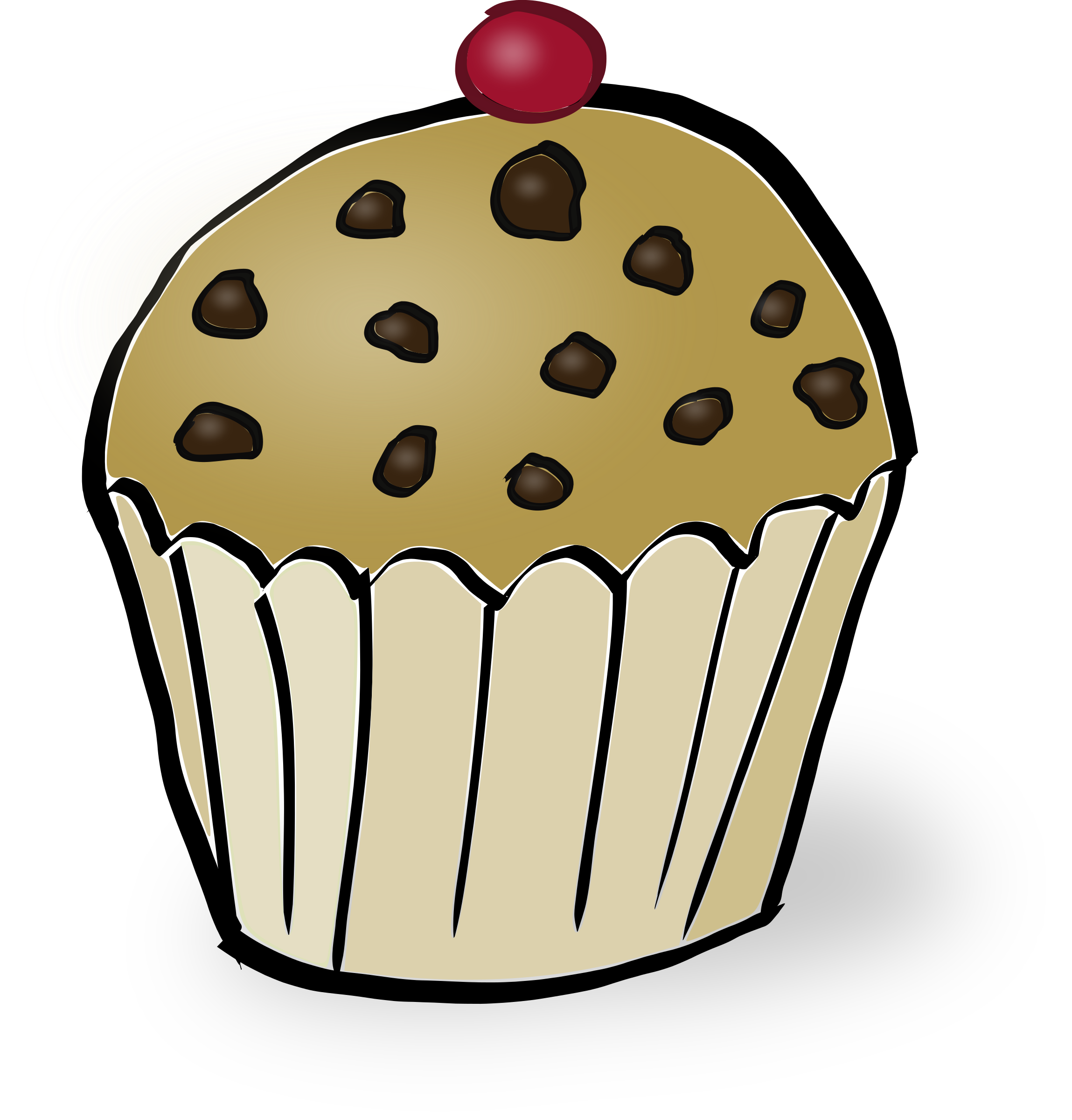 muffin svg cartoon