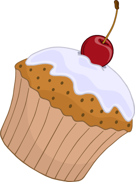 Muffins clipart animated. Apple cartoon muffin