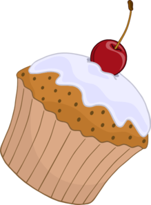 Vector cupcakes muffin