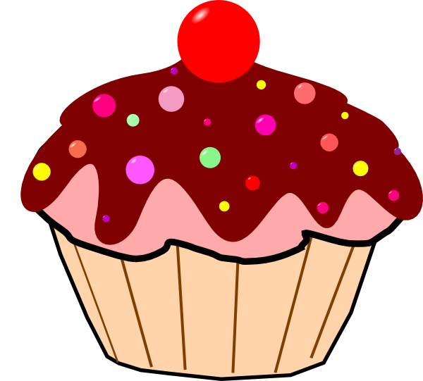Muffins clipart animated. Free cupcakes pictures download