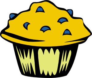 Muffins clipart animated. Cartoon muffin