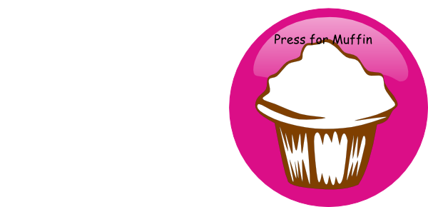 Muffins clipart august. The muffin button clip