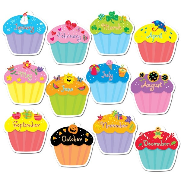 Muffins clipart february. Best cupcakes images