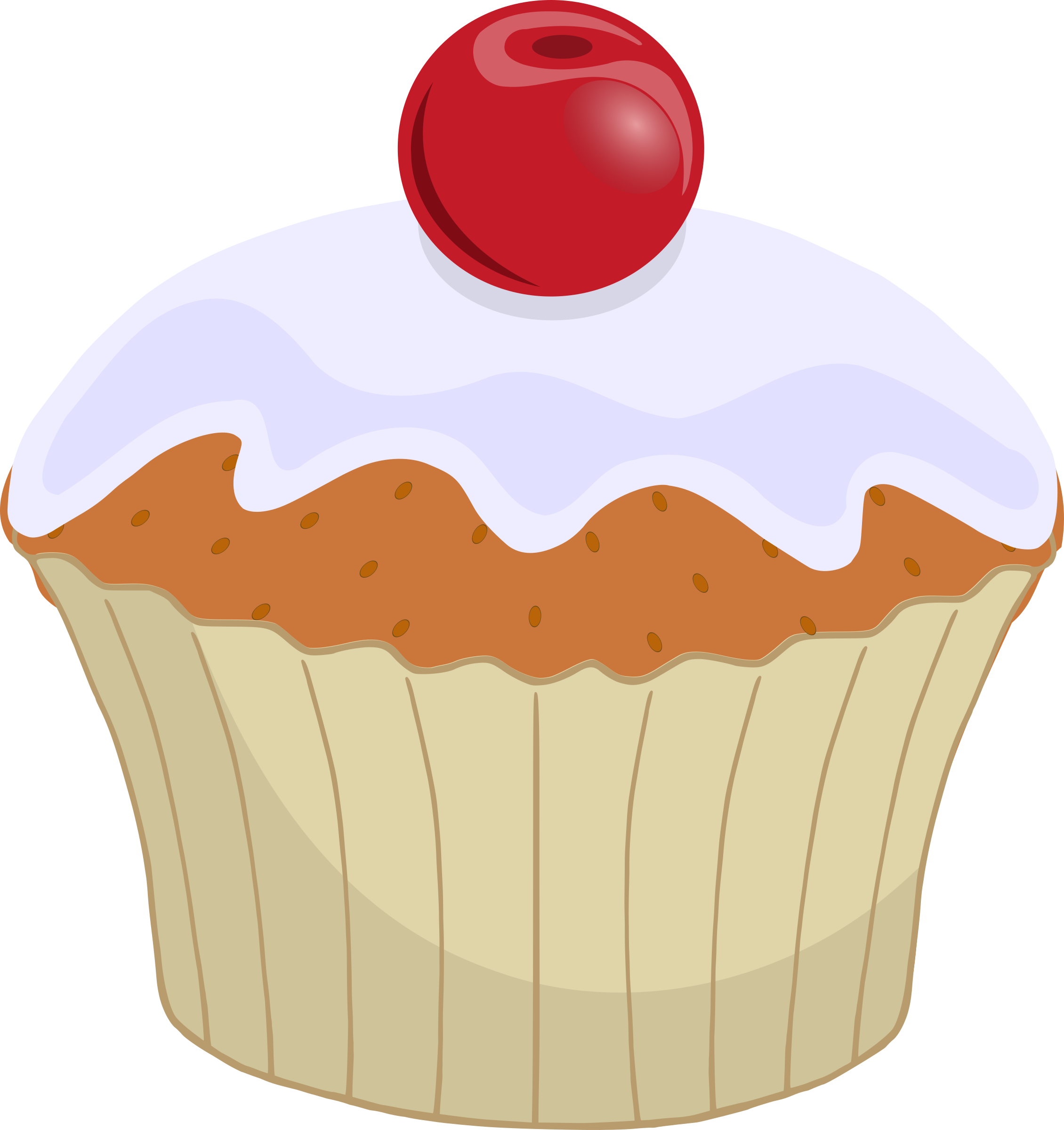 Muffins clipart february. Free january cupcakes cliparts