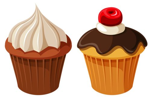 Muffins clipart january. Best cupcake images