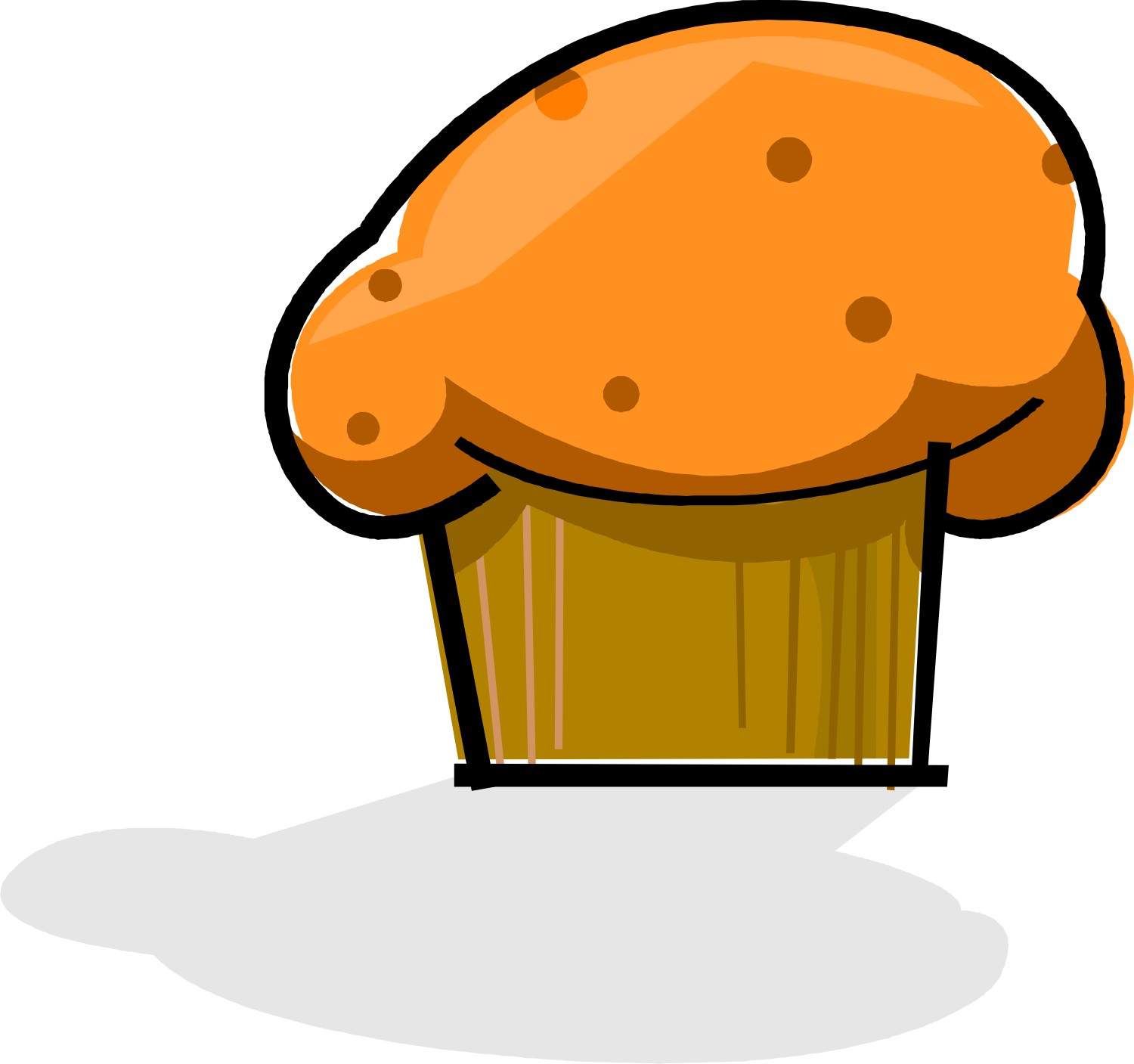 Muffins clipart january. Shrinking bunny s buns