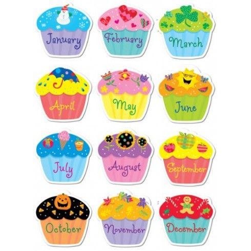 Muffins clipart january. Best stickers images