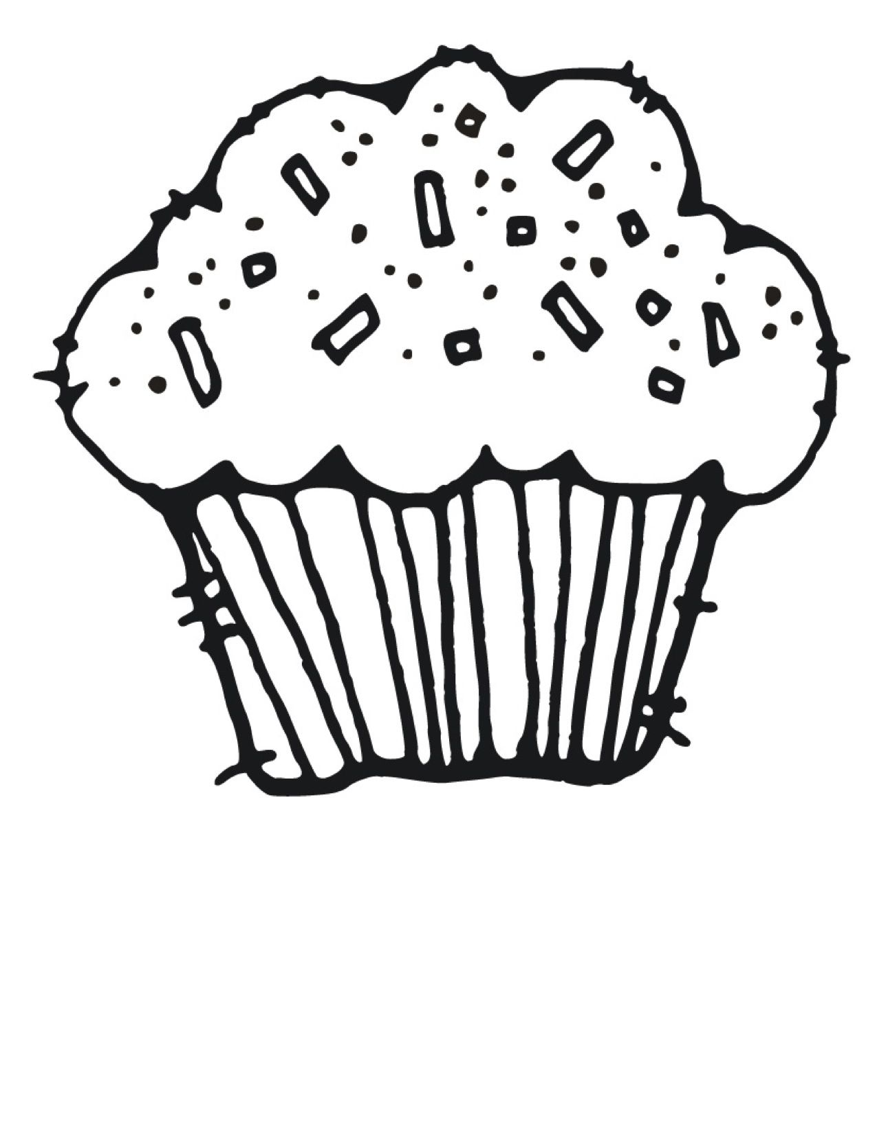 Muffins clipart kid. Cupcake birthday party board