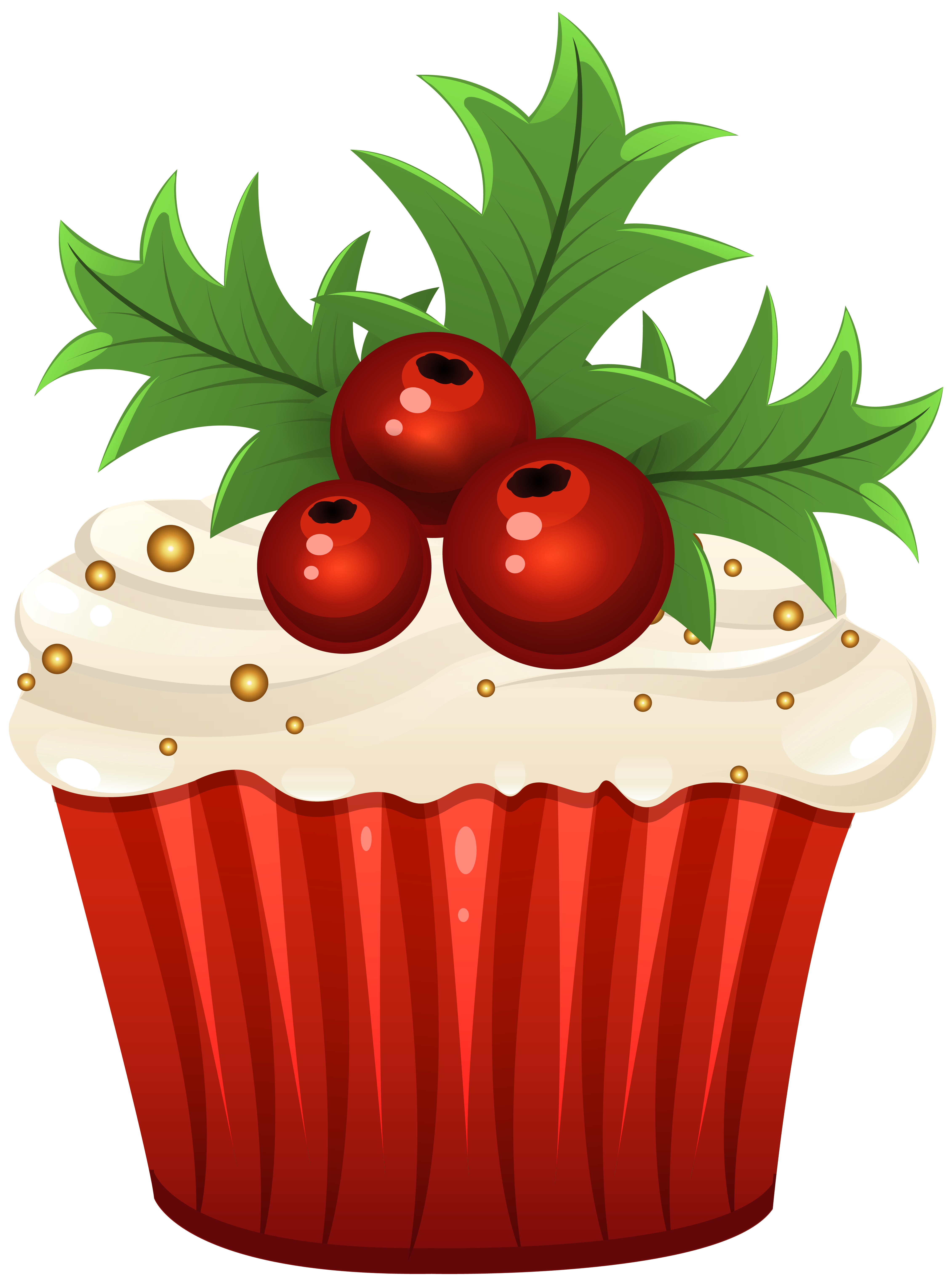 Muffins clipart new year. Christmas muffin png clip