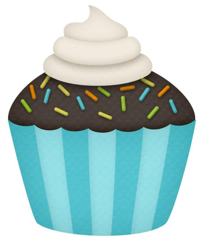 Muffins clipart new year. Birthday cupcake hubpicture pin