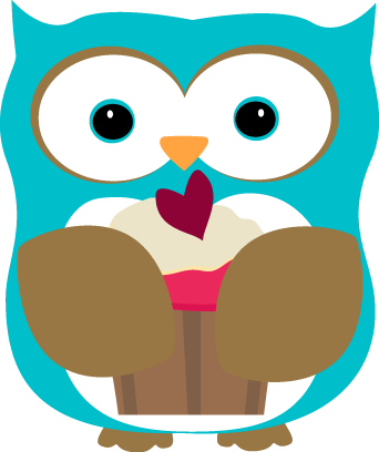 Muffins clipart owl. Cupcake pencil and in