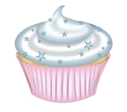 Muffins clipart turquoise. Element png clip art