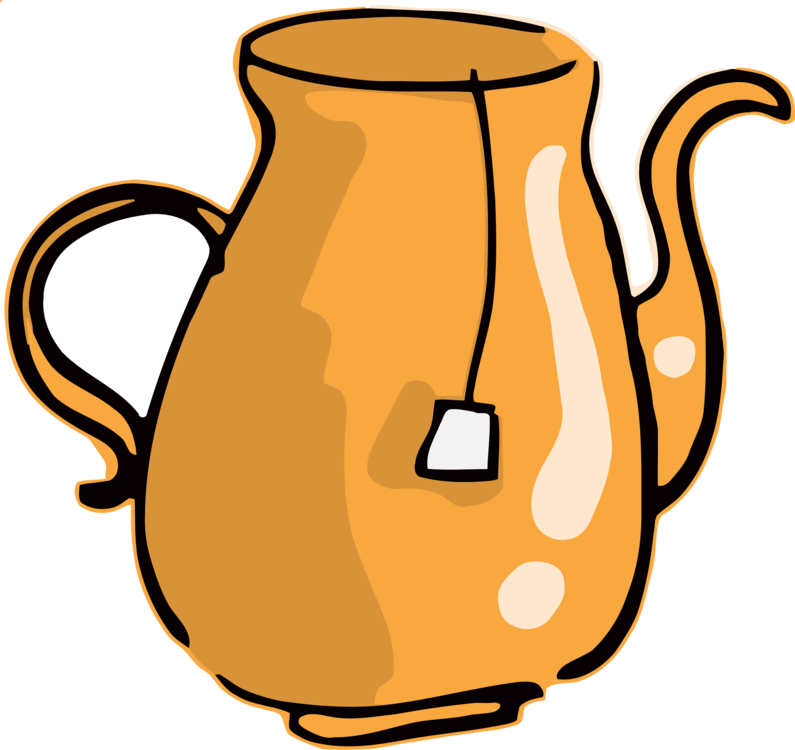 Mug cup table glass. Teapot clipart jpg library library