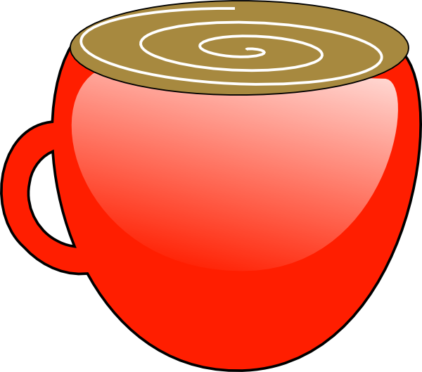 Mug clipart plain red. Free hot cocoa download