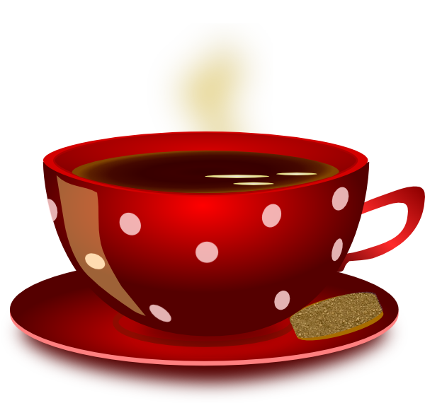 Mug clipart plain red. Coffee cup clip art