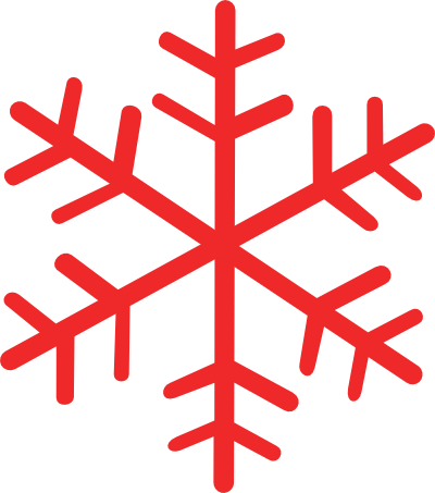 Red snowflake png. Snowflakes clip art designs