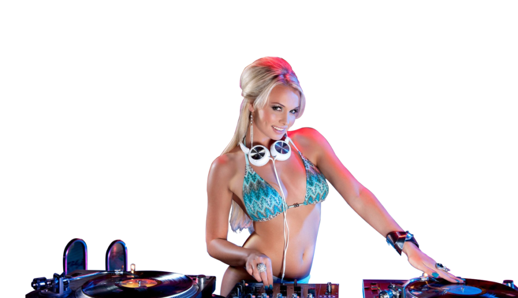 Mujer dj png. Index of wp content