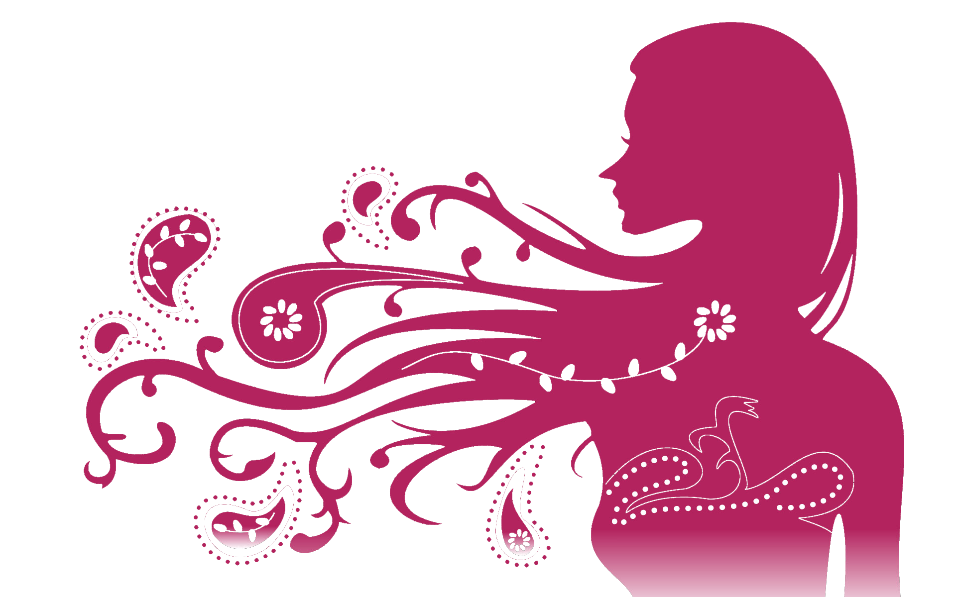 Mujer rosas png. Kisspng female silhouette woman