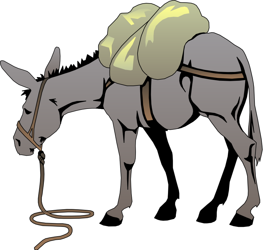 Mule clipart domesticated. Free animated mexican download