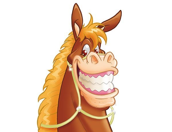 Mule clipart horse tooth. Cartoon teeth pictures secondtofirst