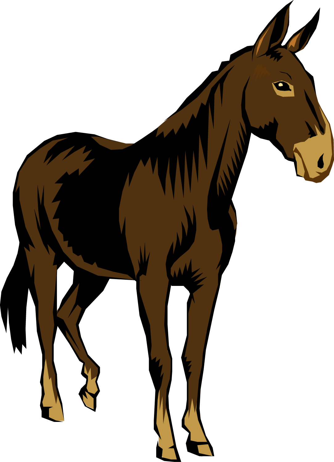Mule clipart printable. Free cliparts download clip