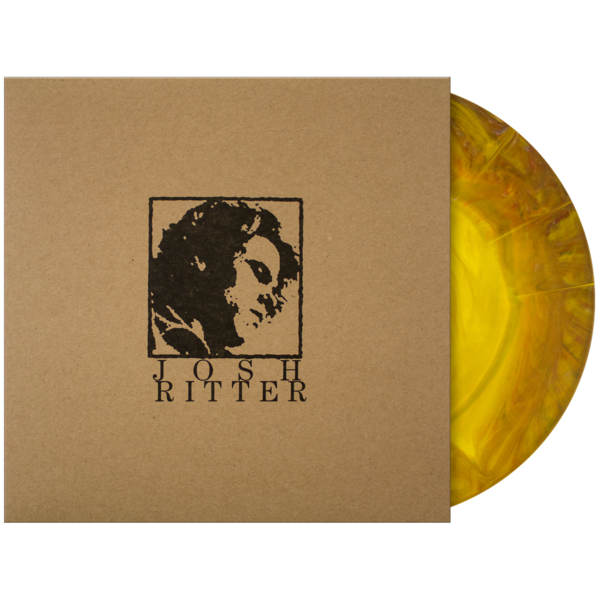 Multi color vinyl png lp. Self titled josh ritter