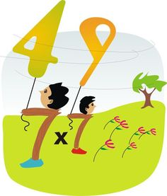 Multiplication clipart math brain. Right brained pinterest and