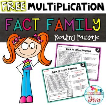 Multiplication clipart test booklet. Best activities for