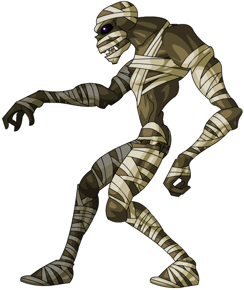 mummy transparent real